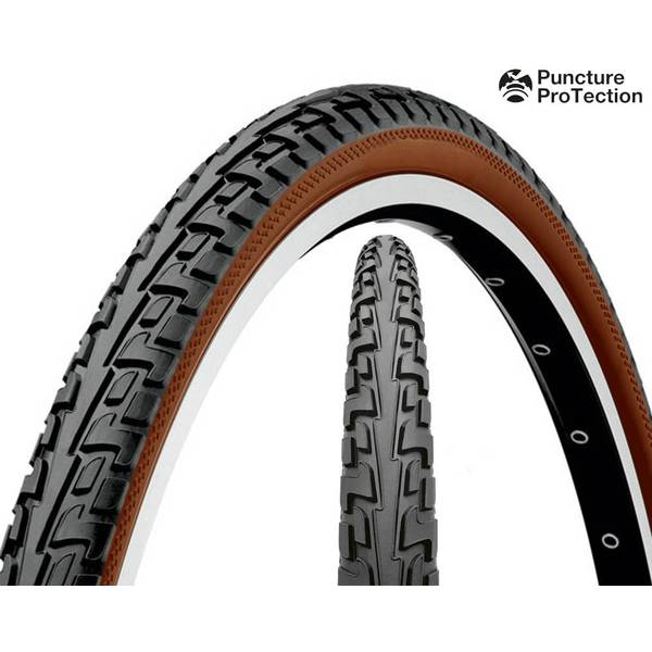 Cauciuc Continental Tour RIDE Puncture ProTection 26x1.75  negru/maro