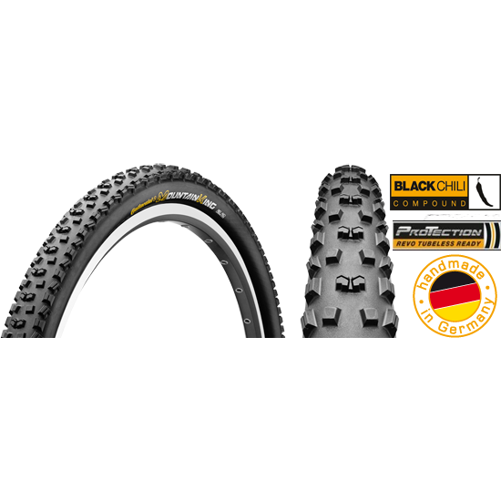 Cauciuc Continental Mountain King 2 ProTection BlackChili 27.5x2.2 pliabil