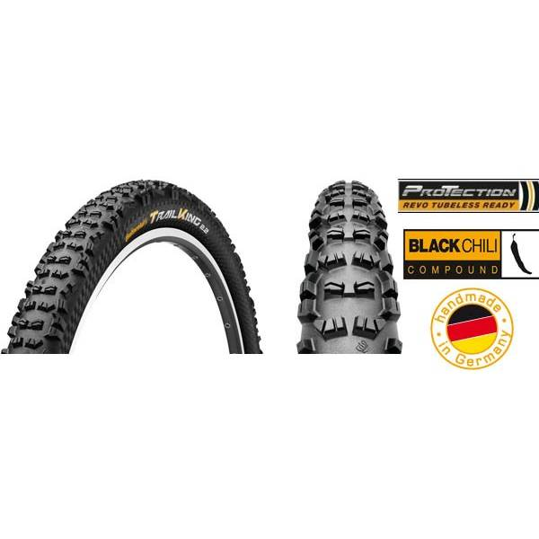 Cauciuc Continental Trail King 2 ProTection BlackChili 27.5x2.2 pliabil