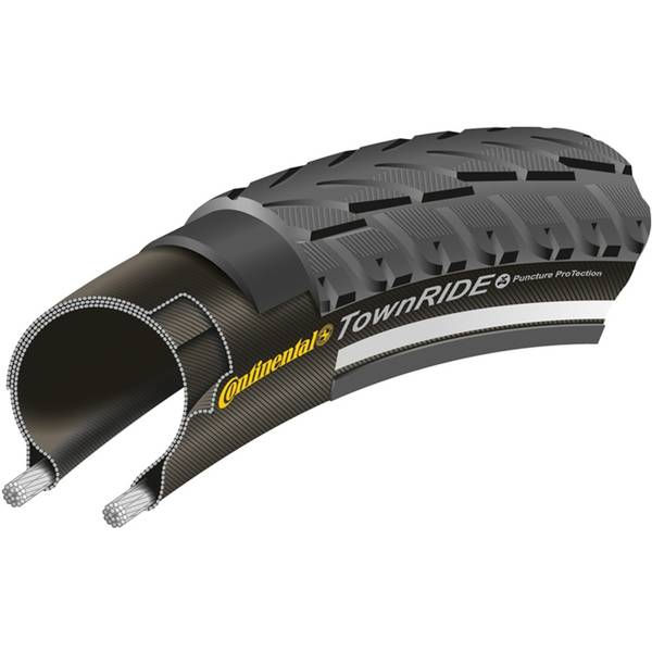 Cauciuc Continental TownRide Reflex Puncture-Protection 28x1.75