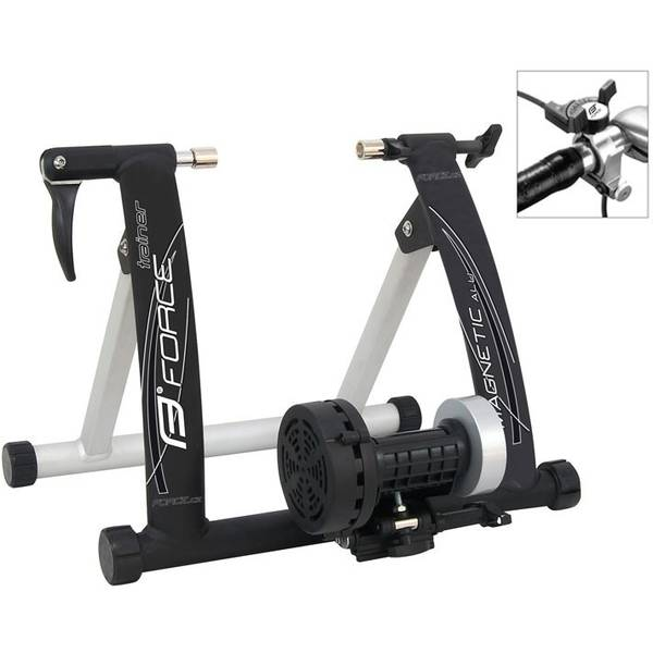 Bike Force Trainer Magnetic Al negru