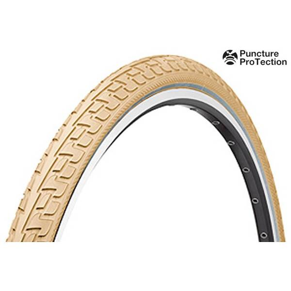 Cauciuc Continental Tour RIDE Puncture ProTection 28x1-3/8x1-5/8 crem