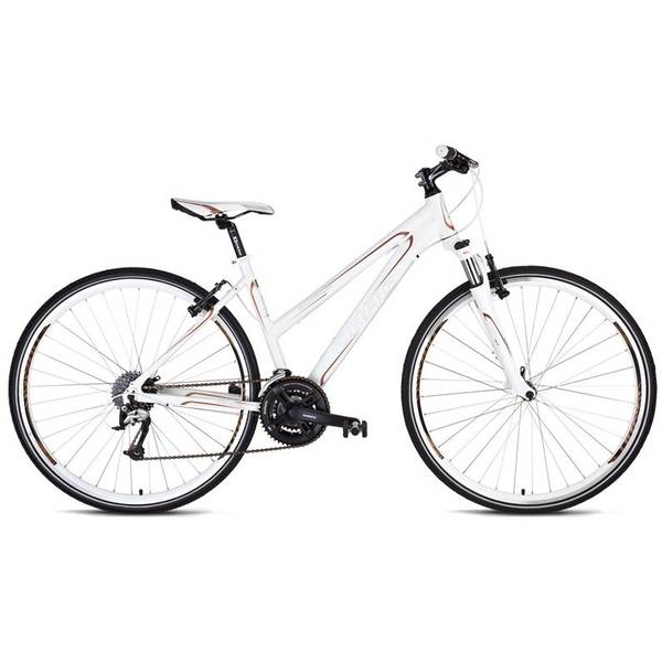 Bicicleta Drag Grand Canyon Pro Lady 28 White Brown