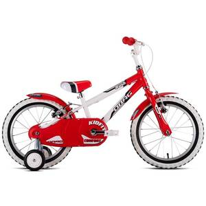 Bicicleta Rush White Red 16