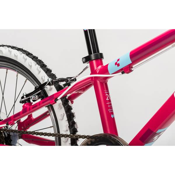 Bicicleta Cube Kid 200 pink/white/blue 2016