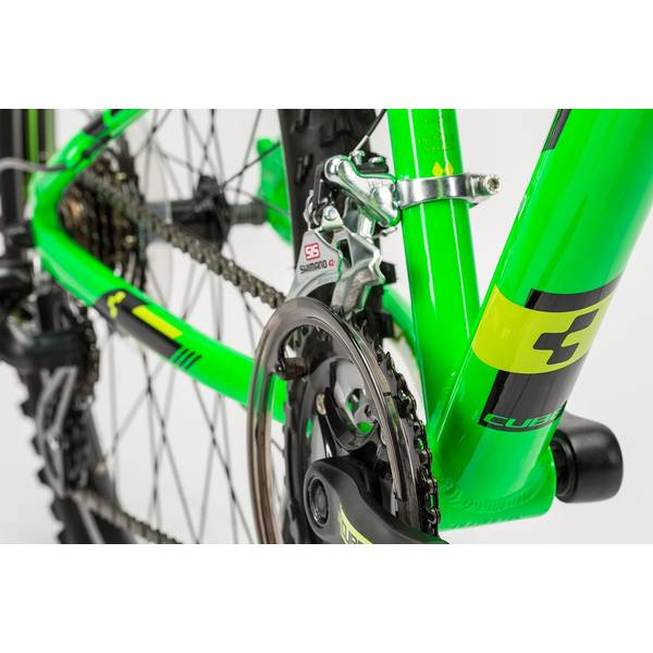 Bicicleta Cube Kid 240 green/black 2016