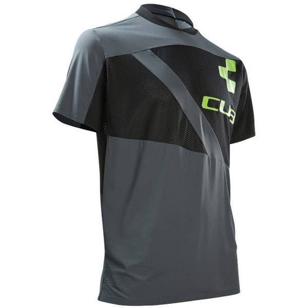 Cube Jersey S/S AM Roundneck blacknanthracite