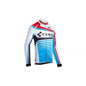 Cube Jacket multifunctional Teamline whitenbluenred
