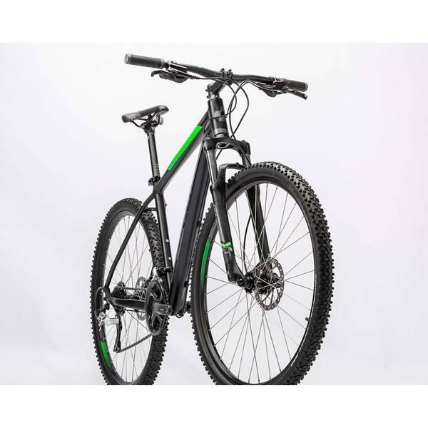 Bicicleta Cube Aim Pro 29 black green 2016