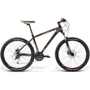 Bicicleta Kross Level A3 black-graphite-orange 2014