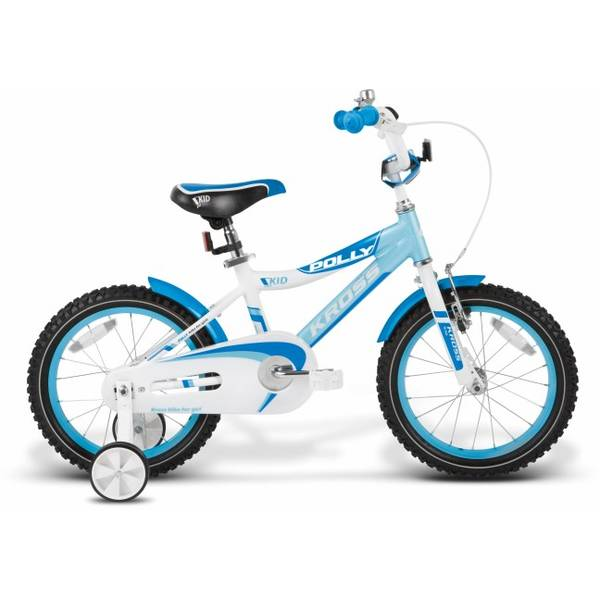 Bicicleta Kross Polly 16 light blue-white-blue 2014