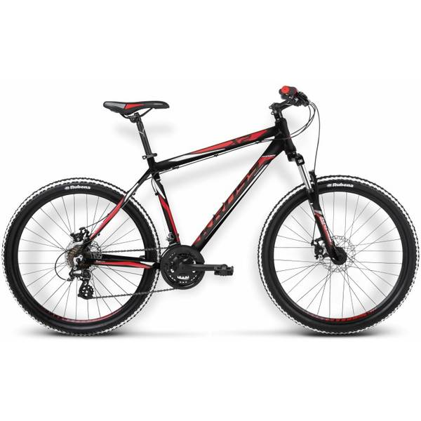 Bicicleta Kross Hexagon X2 Disc black-red-white matt 2015