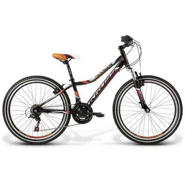 Bicicleta Kross Hexagon Replica 24 black-white-orange 2014