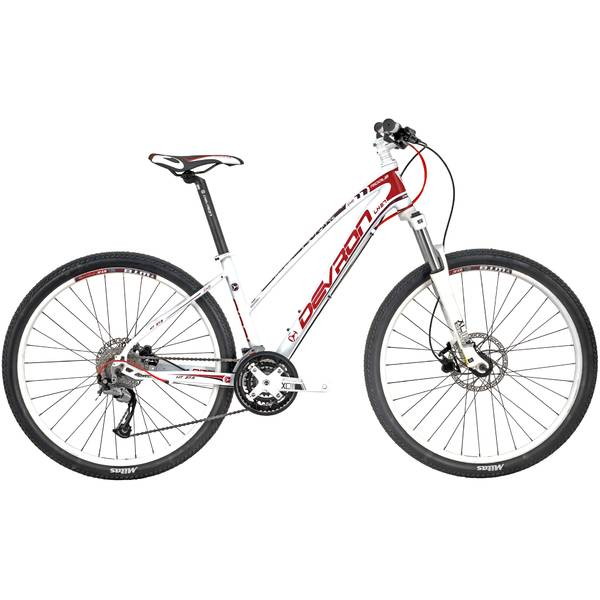 Bicicleta Devron Riddle Lady LH2.7 Crimson White