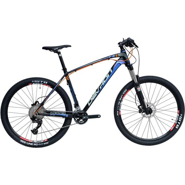 Bicicleta Devron Riddle Men R7.7 Race Black