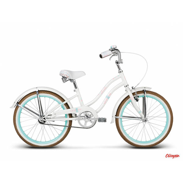 Bicicleta Le Grand Sanibel Kid white glossy 2016
