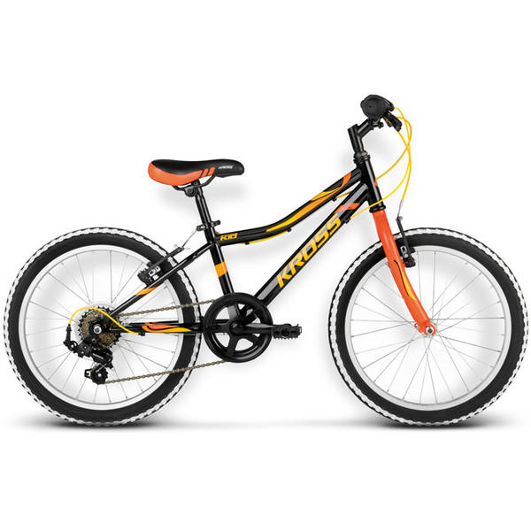 Bicicleta Kross Ric 20 black-orange 2016