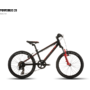 Bicicleta Ghost Powerkid 20 Rigid 2016 Negru