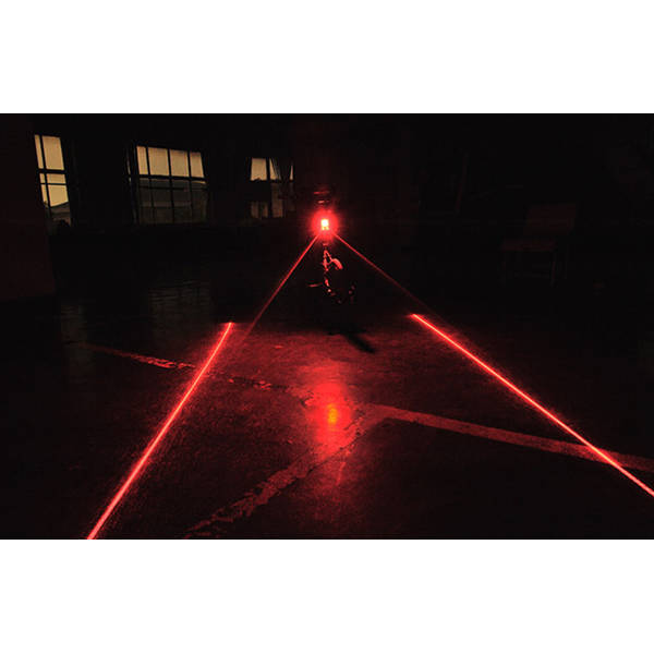 Syncromate Stop Spate 5 LED-uri Rosii SUPER BRIGHT + linii LASER