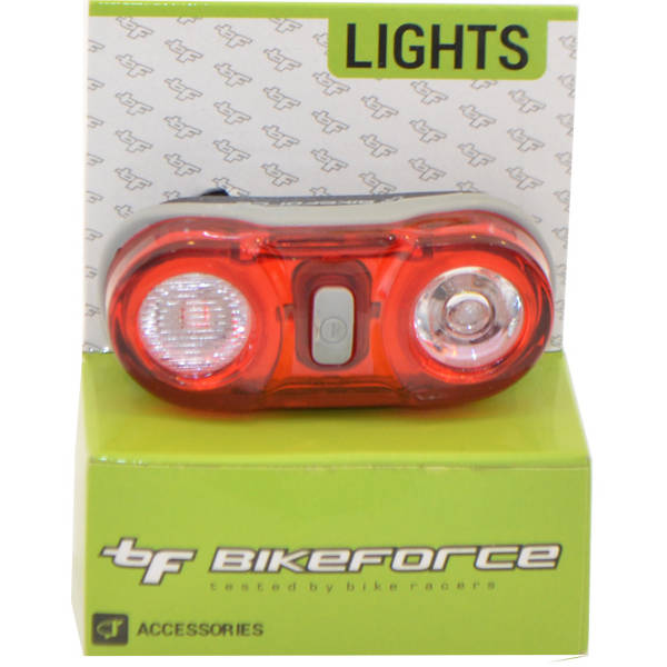 Bike Force Lampa spate Superflash