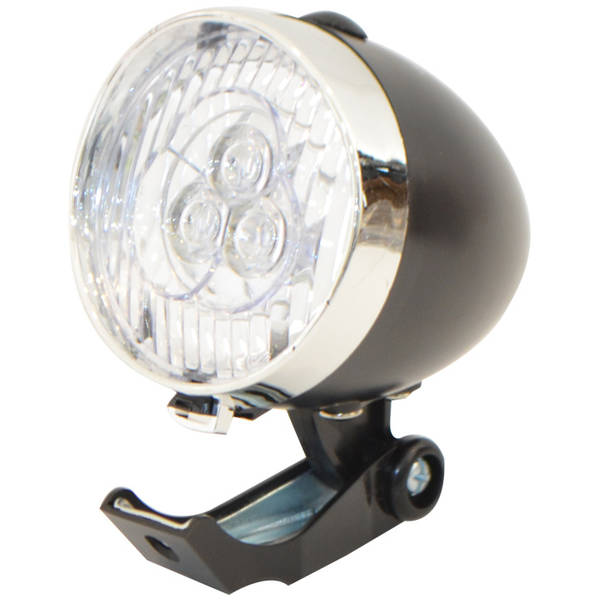 Bike Force Lampa fata Classic Black