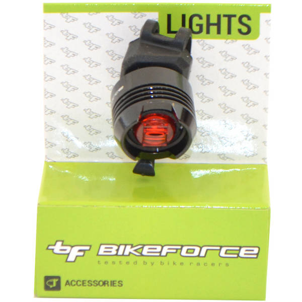 Bike Force Lampa spate Knob Black