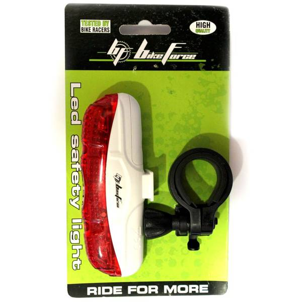 Bike Force Lampa spate Quadro Red