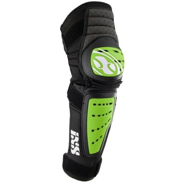 IXS Genunchiere si tibiere X-Cleaver green