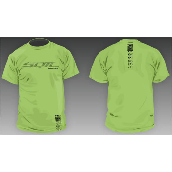 Kross Tricou Tee lime