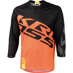 Kross Tricou barbat enduro 3/4 Hyde orange