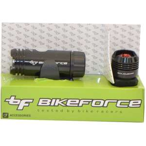 Bike Force Set lampa fata spate Blinder Knob  3/2 functii  USB