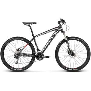 Bicicleta Kross Level R5 black silver red 2017