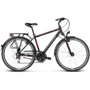 Bicicleta Kross Trans Siberian black red 2017