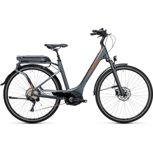 Bicicleta Cube Touring HYBRID EXC 500 Easy Entry grey copper 2017