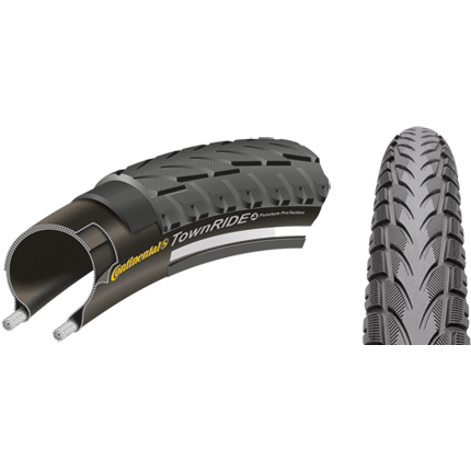 Cauciuc Continental Town RIDE Reflex Puncture ProTection 26x1.75