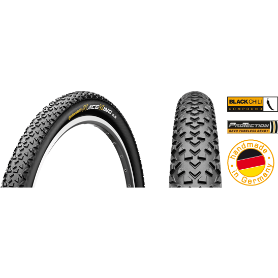 Cauciuc Continental Race King ProTection 29x2.2 -pliabil