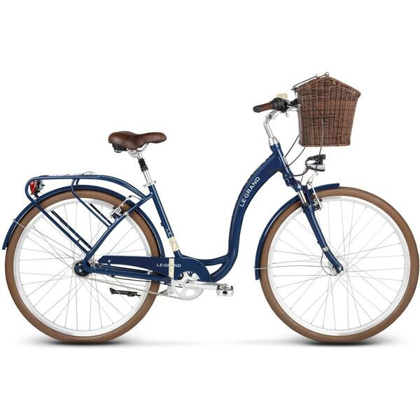Bicicleta Le Grand Lille 6 28 M navy blue glossy 2019