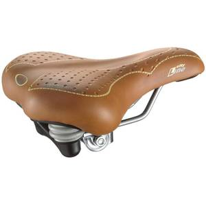 Selle City Lady braun elastomer