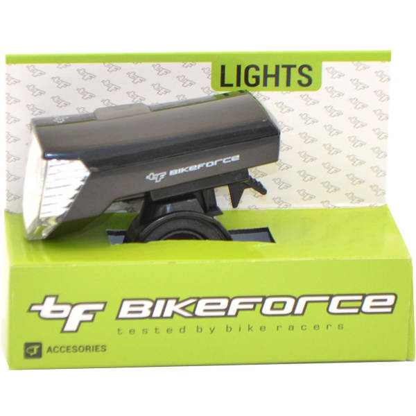 Bike Force Lampa fata Window Black