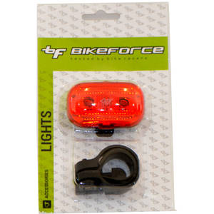 BikeForce Stop Modest 3 led Red