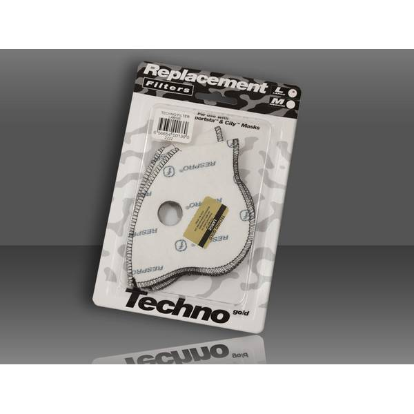 RESPRO Techno™ Filter Twin Pack - 2 filtre de schimb pt masca antipoluare Techno