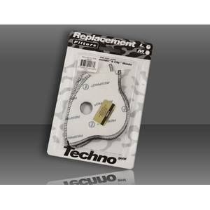 Techno™ Filter Twin Pack - 2 filtre de schimb pt masca antipoluare Techno