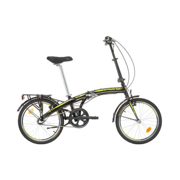 Bicicleta Sprint Nexus 3 20 negru/lime 2017