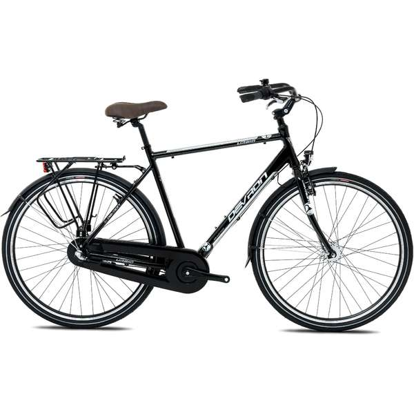 Bicicleta Devron Urbio Man City C1.8 Charcoal Black