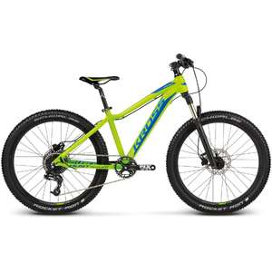 Bicicleta Kross Dust Replica PRO lime-navy-blue 2017