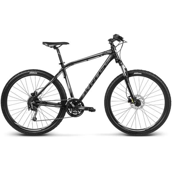 Bicicleta Kross Hexagon R8 black-graphite-silver 2017