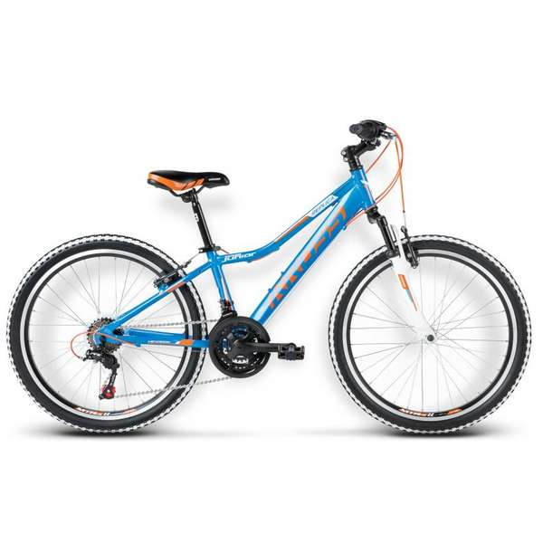 Bicicleta Kross Hexagon Replica 24 blue-orange 2017