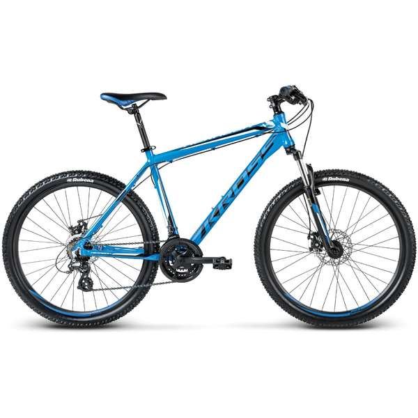 Bicicleta Kross Hexagon X2 Disc blue-white 2017