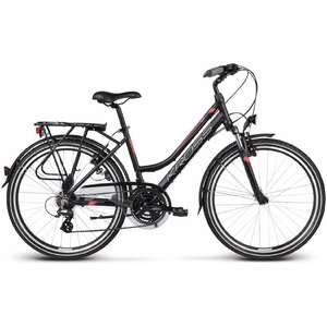 Bicicleta Kross Trans India black coral 2017 Dama