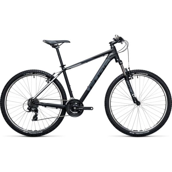Bicicleta Cube Aim 27.5 blacknwhite  2017